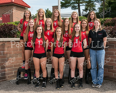 CHS 9th Grade Girs VB