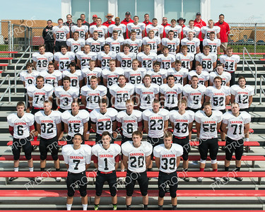 CHS Varsity Football Team