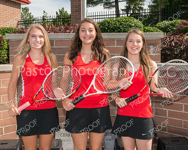CHS Girls Tennis Seniors