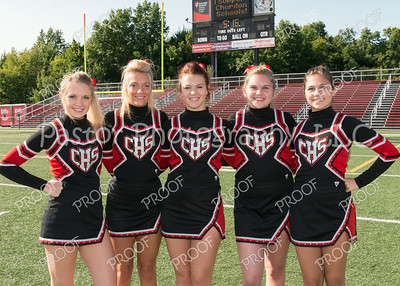 CHS Senior FB Cheerleaders