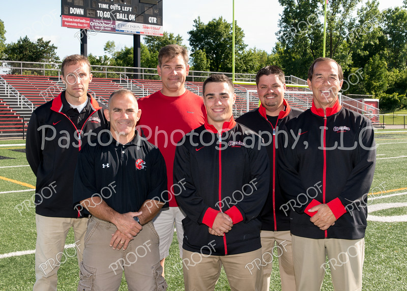 7th and 8th Grade Football Coaches