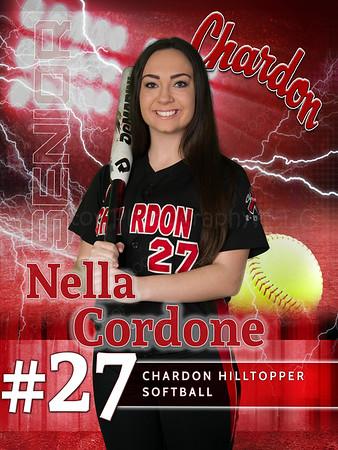 Nella Cordone - CHS Softball