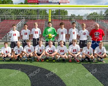 Soccer Boys JV Team