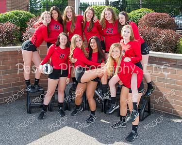Volleyball Varisty Team Fun