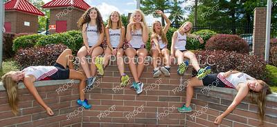 Cross Country Girls Seniors Fun