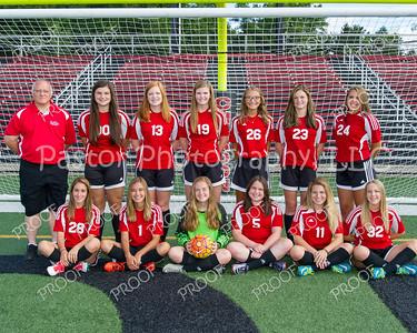 Soccer Girls JV Team