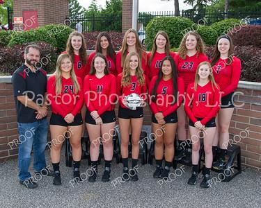 Volleyball Varisty Team