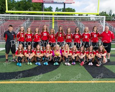 Soccer Girls Varsity Team