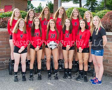 Volleyball JV Team