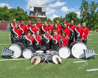 Hilltopper Band Drum Line