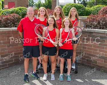 Tennis JV Team