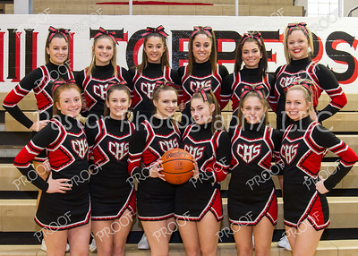 Cheerleaders Varsity BBall 2