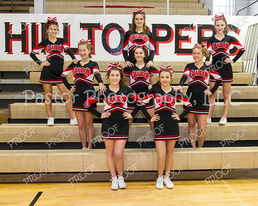 Cheerleaders JV BBall 2