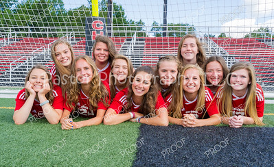 Soccer Girls - Varsity Fun