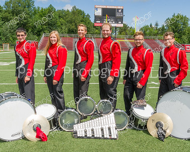 Marching Band - Drum Line Section Leaders