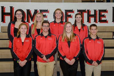 Swim Team Seniors