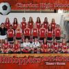 CHS Varsity Girls Soccer 8x10 border