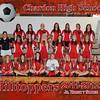 CHS Jr Varsity Girls Soccer 8x10 border