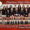 CHS Jr Varsity Volleyball 5x7 border