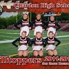 CHS 9th Grade Cheerleaders 5x7 border