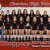 CHS Varsity Volleyball 5x7 border