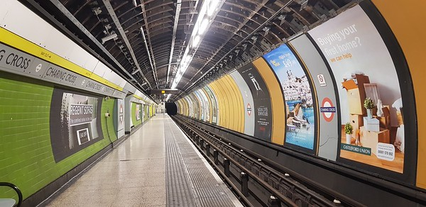 Charing Cross disused tube station 2018