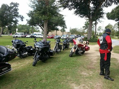 "1st Annual Motorcycle Ride For The ""New Horizons Foundation"" In P'Cola"