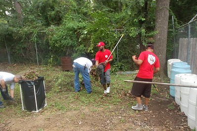 B'Ham Pacesetters conducted a Community Clean Up at the Center Point Civitan Building