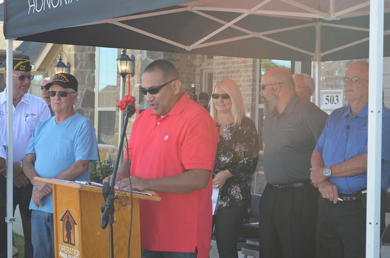 Sgt. Rivas expressed his gratitude.