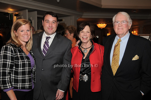 Christine Hogan, John Hogan, Alice Malloy, Jerry Malloy<br /> photo by Rob Rich © 2009 robwayne1@aol.com 516-676-3939