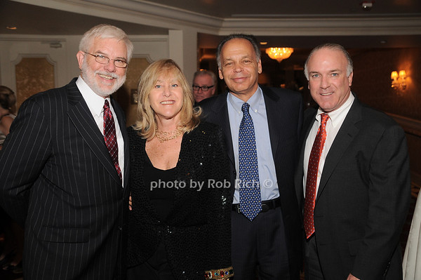 Jim Harnett, Sue Landau, David Landau, Bernie Kennedy<br /> photo by Rob Rich © 2009 robwayne1@aol.com 516-676-3939