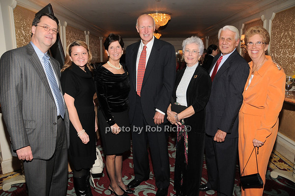 Chris Daly, Carrie Foote, Gloria Grafer, Diick Grafer, Caroline Vetrone, Cosmo Vetrone, Barbara Romano<br /> photo by Rob Rich © 2009 robwayne1@aol.com 516-676-3939