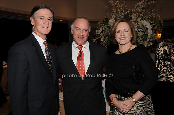 Charles Strain, Bernie Kennedy, Denise Strain<br /> photo by Rob Rich © 2009 robwayne1@aol.com 516-676-3939
