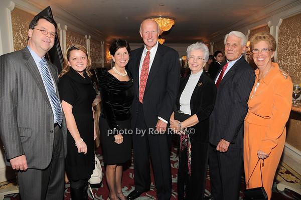 Chris Daly, Carrie Foote, Gloria Grafer, Diick Grafer, Caroline Vetrone, Cosmo Vetrone, Barbara Romano<br /> photo by Rob Rich © 2009 robwayne1@aol.com 516-676-3939