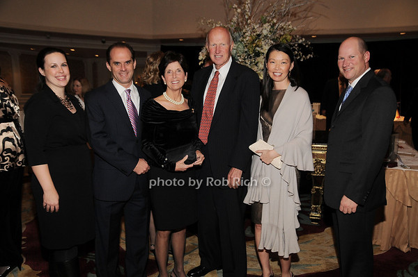 Jennifer Boglioli, Craig Fligstein, Gloria Grafer, Dick Grafer, Maggie Yoon, Charlie Hammerman<br /> photo by Rob Rich © 2009 robwayne1@aol.com 516-676-3939