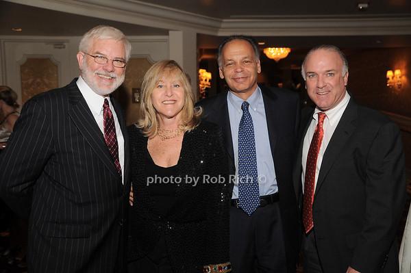 Jim Harnett, Sue Landau, David Landau, Bernie Kennedy<br /> photo by Rob Rich © 2009 robwayne1@aol.com 516-676-3939