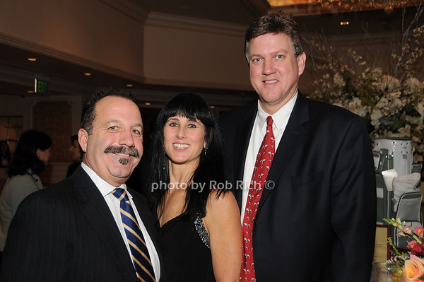 Scott Treiber , Doreen Appell, Brian Appell<br /> photo by Rob Rich © 2009 robwayne1@aol.com 516-676-3939