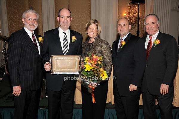Jim Harnett, Timothy P.Knight, Stephanie Knight, Terry Jimenez, Bernie Kennedy<br /> photo by Rob Rich © 2009 robwayne1@aol.com 516-676-3939