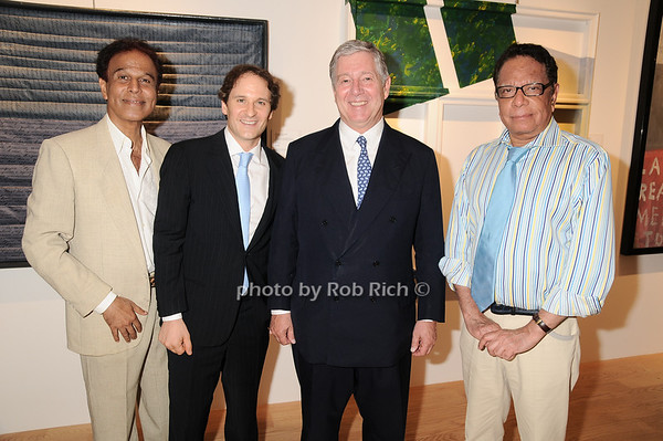 K.K. Shedy, David Hryck, Prince Alexander of Serbia, Baldev Duggal<br /> photo by Rob Rich © 2010 robwayne1@aol.com 516-676-3939