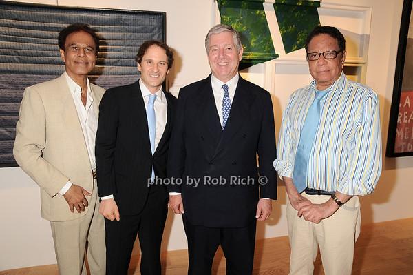 K.K. Shedy, David Hryck, Prince Alexander of Serbia, Baldev Duggal<br /> photo by Rob Rich © 2010 robwayne1@aol.com 516-676-3939