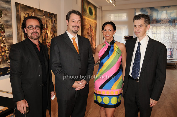 Alexandre Gertsman,David Mason, Marina Makanova , John Tsigakos<br /> photo by Rob Rich © 2010 robwayne1@aol.com 516-676-3939