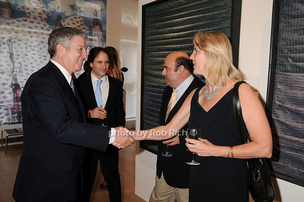 Prince Alexander of Serbia, Sherrod Brown<br /> photo by Rob Rich © 2010 robwayne1@aol.com 516-676-3939