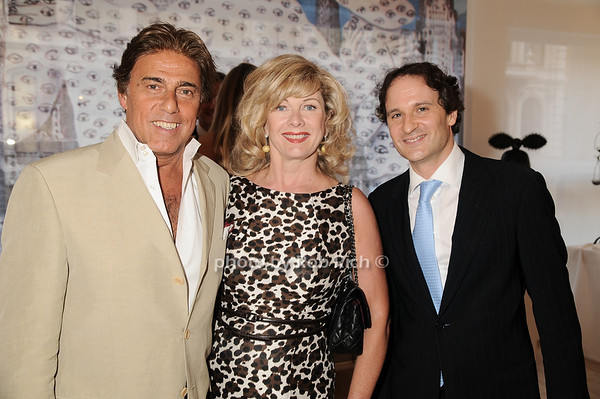 Arnie Rosenshein, Paola Rosenshein, David Hryck<br /> photo by Rob Rich © 2010 robwayne1@aol.com 516-676-3939