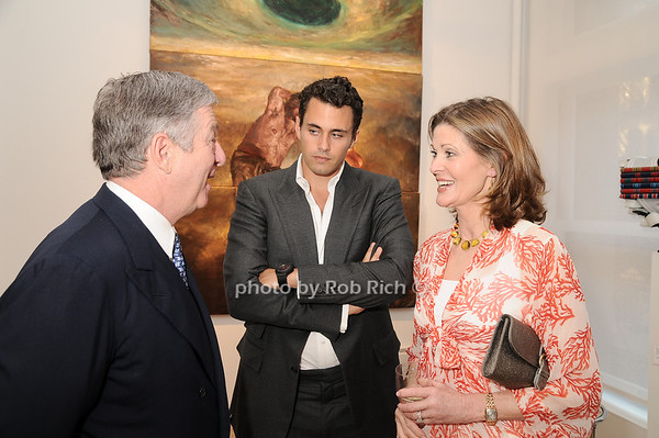 Prince Alexander of Serbia, Oliver Ripley, Kari Tiedemann<br /> photo by Rob Rich © 2010 robwayne1@aol.com 516-676-3939