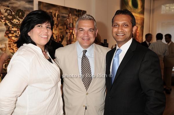 Dawn Hernanndez, Noel Hernandez, Ravi Kumar<br /> photo by Rob Rich © 2010 robwayne1@aol.com 516-676-3939