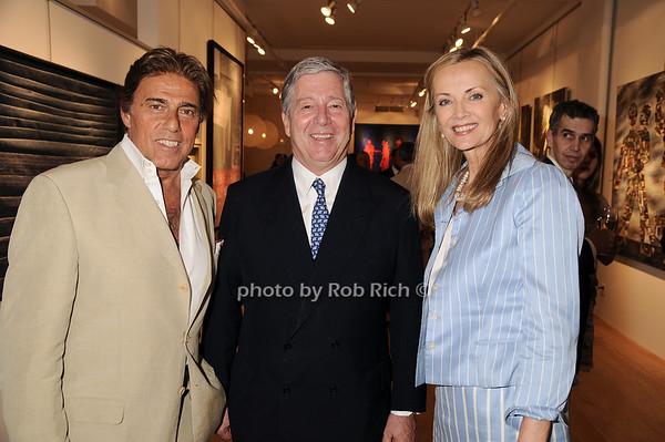 Arnie Rosenshien, Prince Alexander of Serbia, Bonnie Pfieffer<br /> photo by Rob Rich © 2010 robwayne1@aol.com 516-676-3939