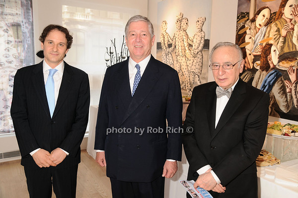 David Hryck, Prince Alexander of Serbia, Ronald Harris<br /> photo by Rob Rich © 2010 robwayne1@aol.com 516-676-3939