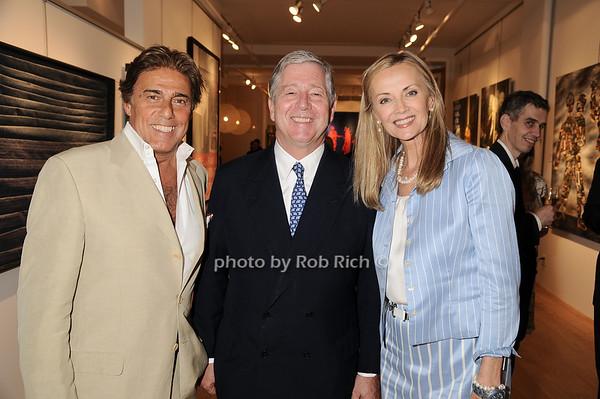 Arnie Rosenshien, Prince Alexander of Serbia, Bonnie Pfieffer<br /> photo by Rob Rich © 2010 robwayne1@aol.com 516-676-3939
