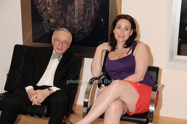 Ronald Harris, Joanna Bennett<br /> photo by Rob Rich © 2010 robwayne1@aol.com 516-676-3939