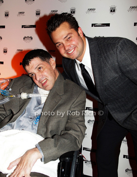 January 7:Bobby DiCandia and New York Yankee Nick Swisher attend the A MIDWINTER NIGHT'S DREAM RECOGNIZES HEROES FOR HOPE AT the Oheka Castle in Huntington on January 7, 2009.<br /> photo by Rob Rich © 2009 robwayne1@aol.com 516-676-3939